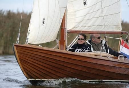 Dagje uit op het water in Friesland