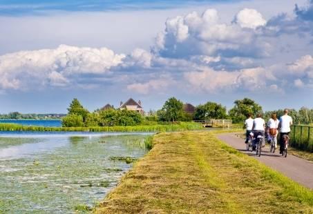 Fietsen in Friesland