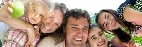 Genieten met familie en kinderen