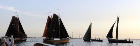 Zeilen op het Gooimeer