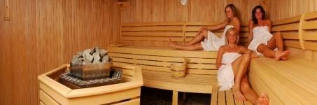 Vriendinnendag naar de sauna