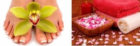 Voetenmassage tijdens uw beautyarrangement