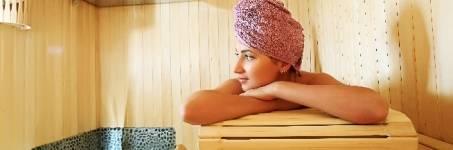 Verwendag met sauna