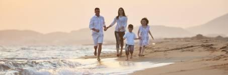 Strandweekend met het hele gezin