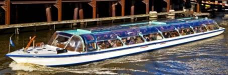 Rondvaart over de Amsterdamse grachten