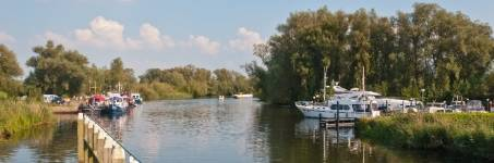 Rondvaart door Nationaal Park Biesbosch