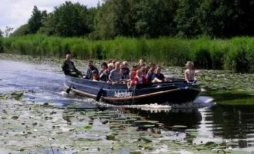 Sloepenchallenge door de Biesbosch