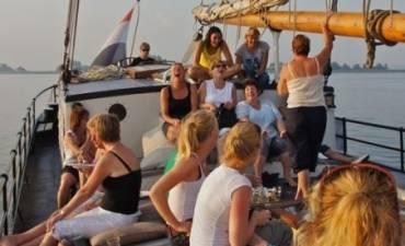 All-In zeiluitje op het IJsselmeer
