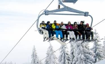 Yes, fun in de sneeuw met uw groep