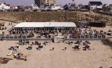 BBQ-en op het strand in Zandvoort