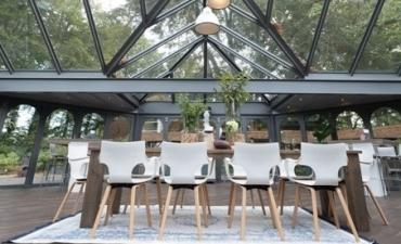 Vergaderen in een Paviljoen op de Veluwe