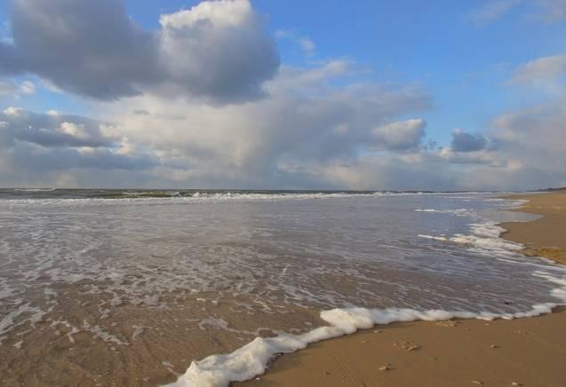 Uitwaai Strandarrangement in Egmond aan Zee