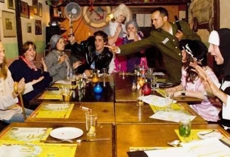 Moordspel Diner in Haarlem