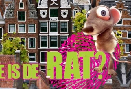 Wie is de Rat? spelprogramma in Amsterdam