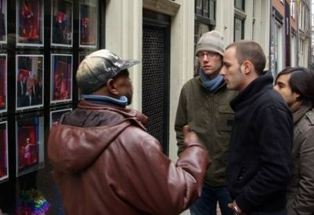 Op stap met een dakloze in Amsterdam