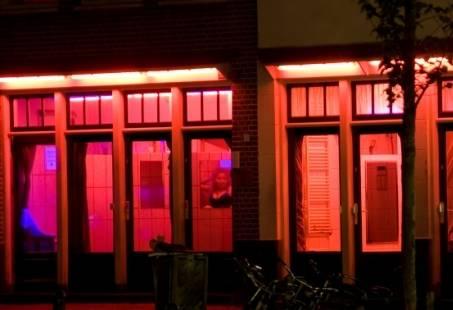 Koekeloeren bij de hoeren in Amsterdam