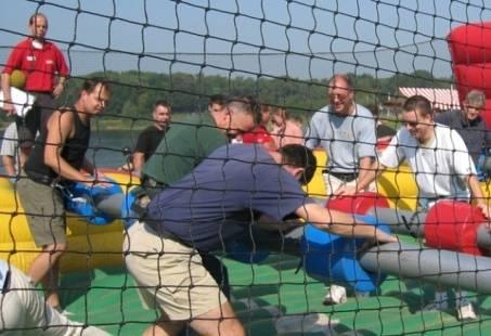 WK Sports game en Barbecue - Sportief bedrijfsuitje