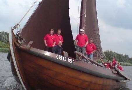 Sportief bedrijfsuitje – zeilmiddag vanuit Kampen het Ketelmeer op