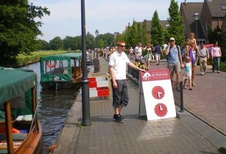 Spannend teamuitje in Giethoorn - Wie is de Mol?