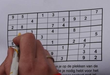 Groepsuitje in Gelderland- WhatsApp Sudoku stadsspel in Apeldoorn
