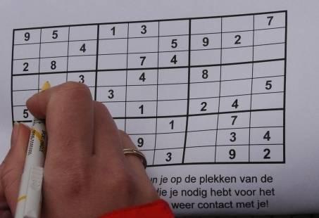 Stadsuitje in Nijmegen - Speel WhatsApp Sudoku met uw groep
