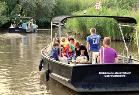 Groepsuitje wandelen en varen door de Biesbosch - Ga op safari met een gids
