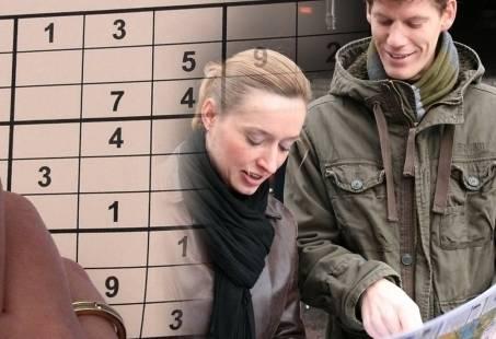 Actief stadsuitje in Enschede met city game WhatsApp Sudoku