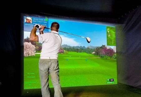 Indoor Golf clinic in Den Haag