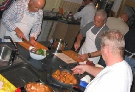 Vergaderen met kookworkshop in Renesse