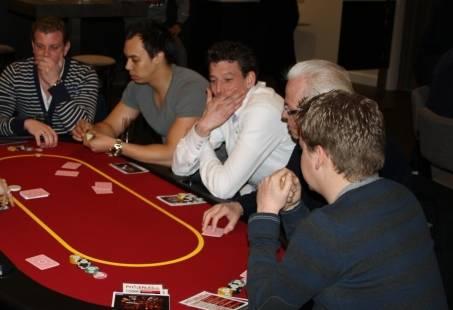 Teamuitje in Haarlem - Workshop pokeren
