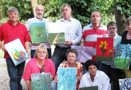 Workshop schilderen op locatie