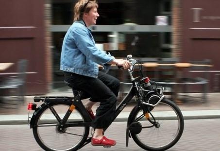 Solex rijden in Nijmegen