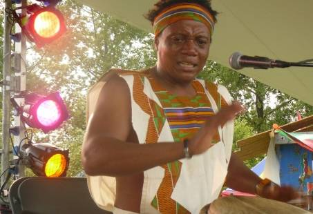 Workshop Djembe Afro Drum