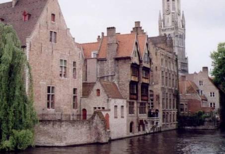 Stadsaanzicht Brugge