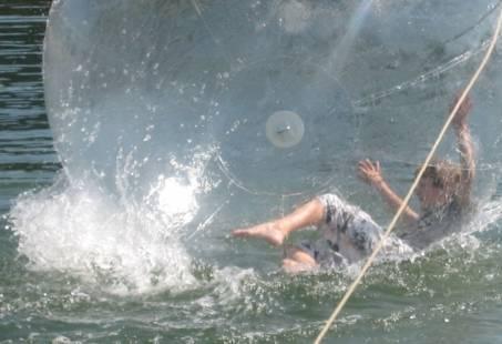 Waterbal Strandspektakel - Beachvolleybal - Spectaculair bedrijfsuitje