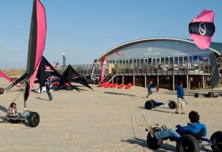 Blokarten of Powerkiten - Stranduitje op de grens van Zeeland en Zuid-Holland