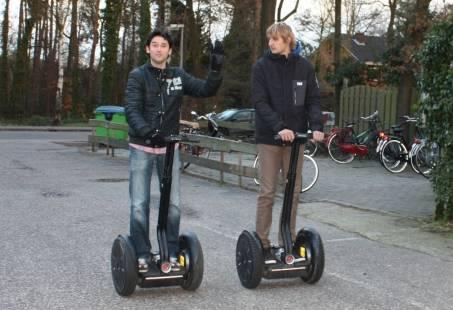 Indoor bedrijfsuitje in Gelderland met Segway rijden
