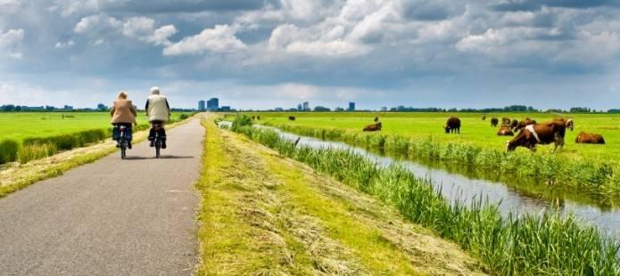 Dagje fietsen in en rondom Giethoorn