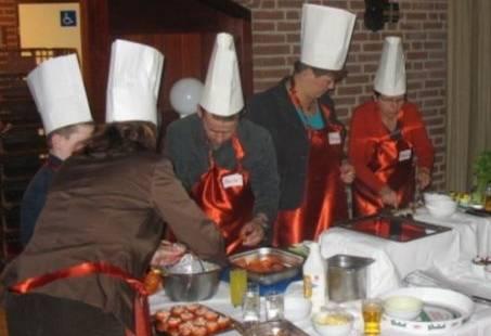 Koken voor elkaar en met elkaar - Culinair groepsuitje