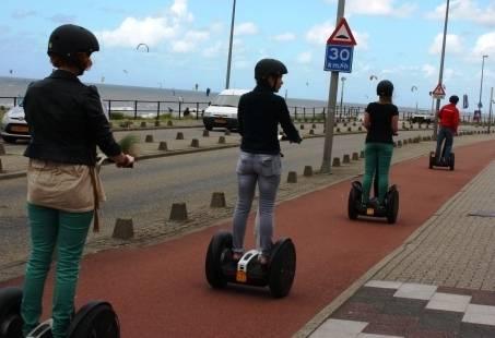 Segway tocht rondom Zandvoort