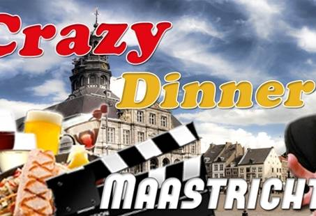 Crazy Dinner Game - Stadsspel en Dineren in 3 restaurants