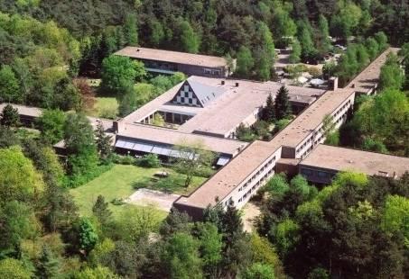 Bovenaazicht hotel
