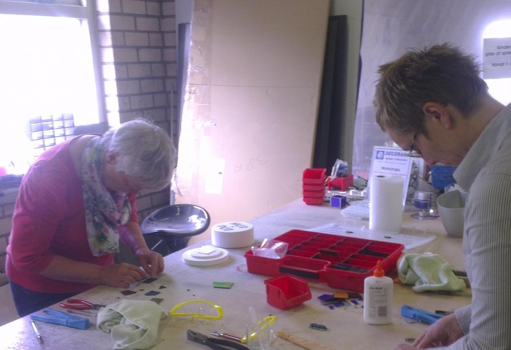 Workshop Hotpot Glas Sieraden