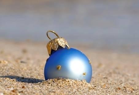 Kerst aan het strand