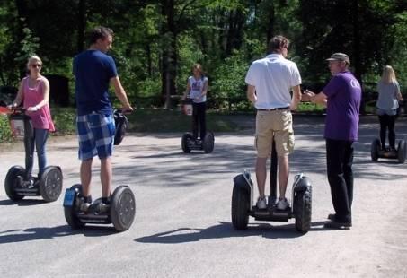 Segway & Solex arrangement - Vervoer oud en nieuwerwets!