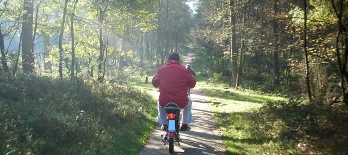 ecotour op de Veluwe