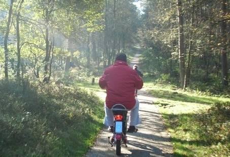 Eco Tour - E-Scooter en Segway groepsuitje op de Veluwe