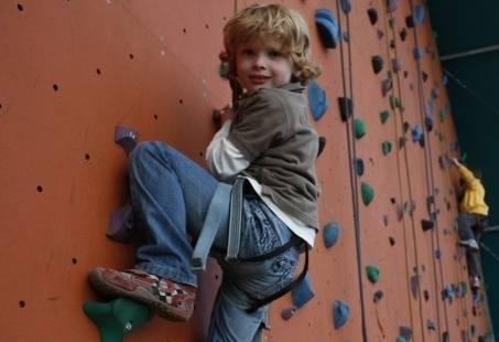 Indoor klim kinderfeestje in Gelderland