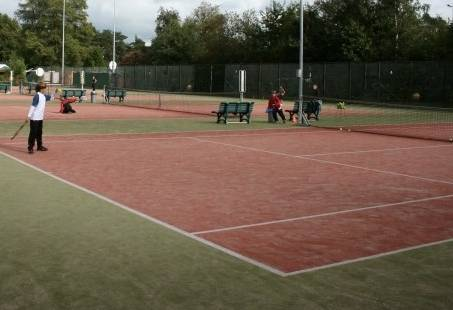 Tennis kinderfeest in Gelderland