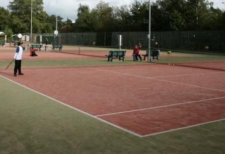 Tennis kinderfeest in Gelderland